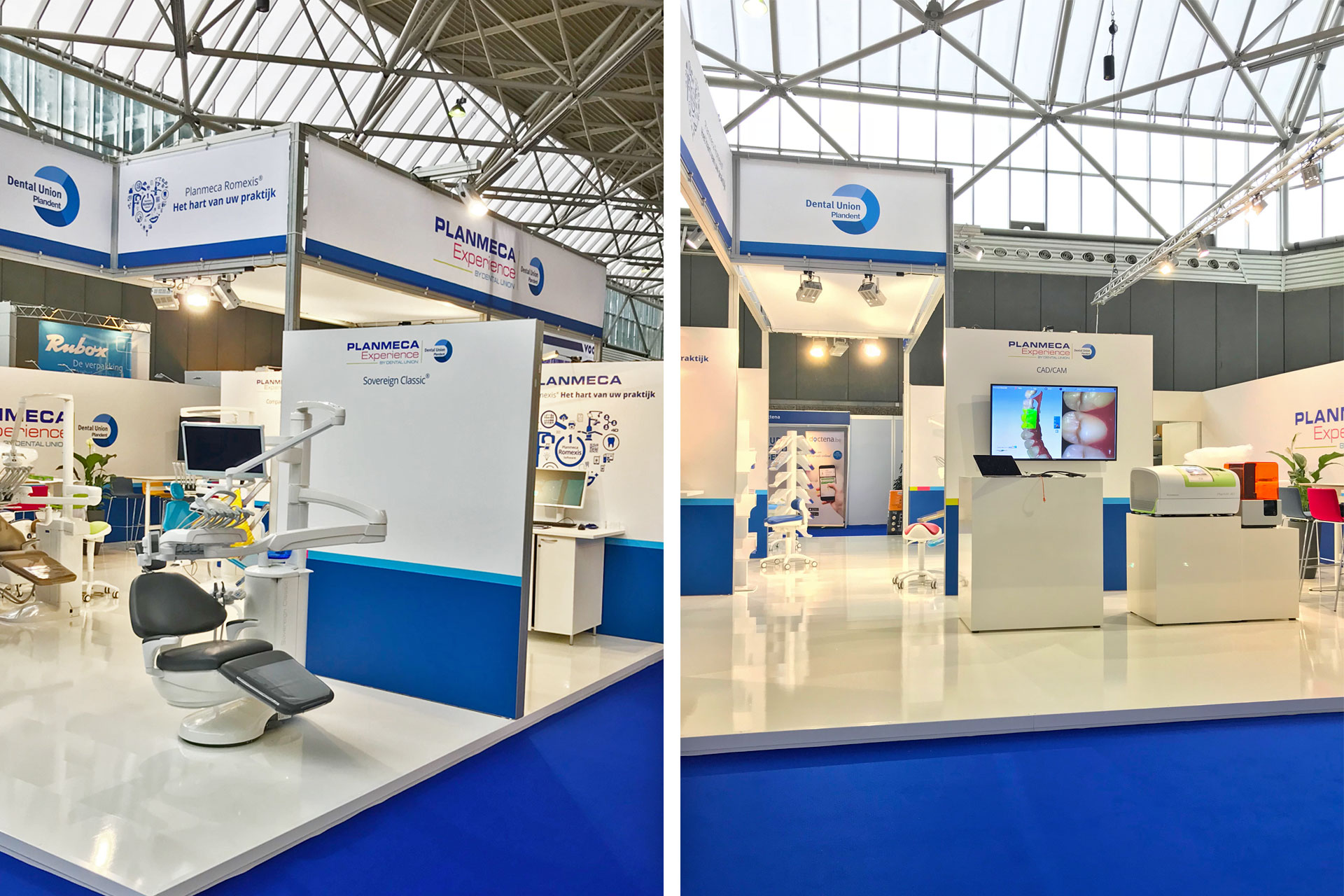 Messebau CC Köln - Dental Union - Dental Expo 2018