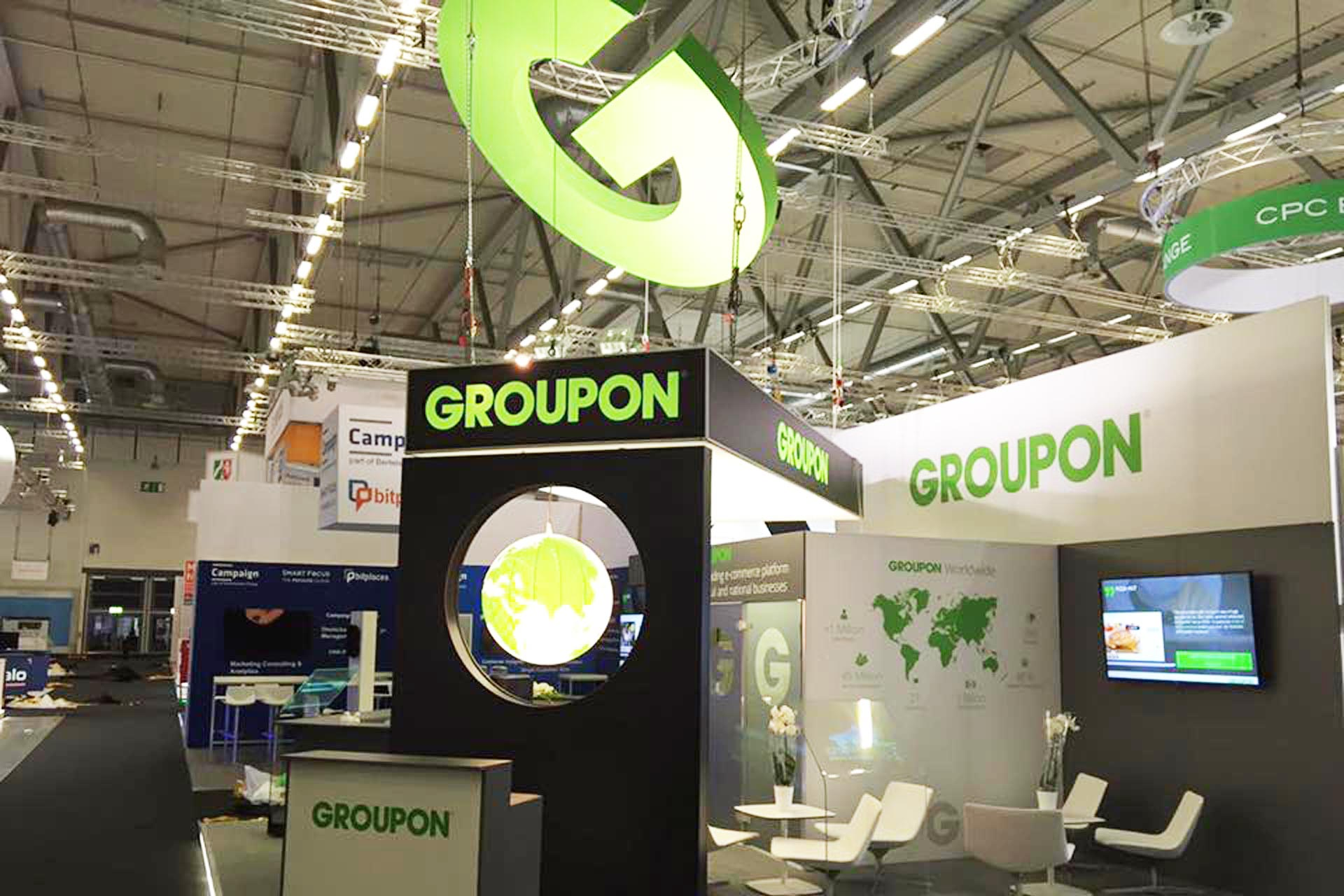 Messestand GROUPON - dmexco 2016