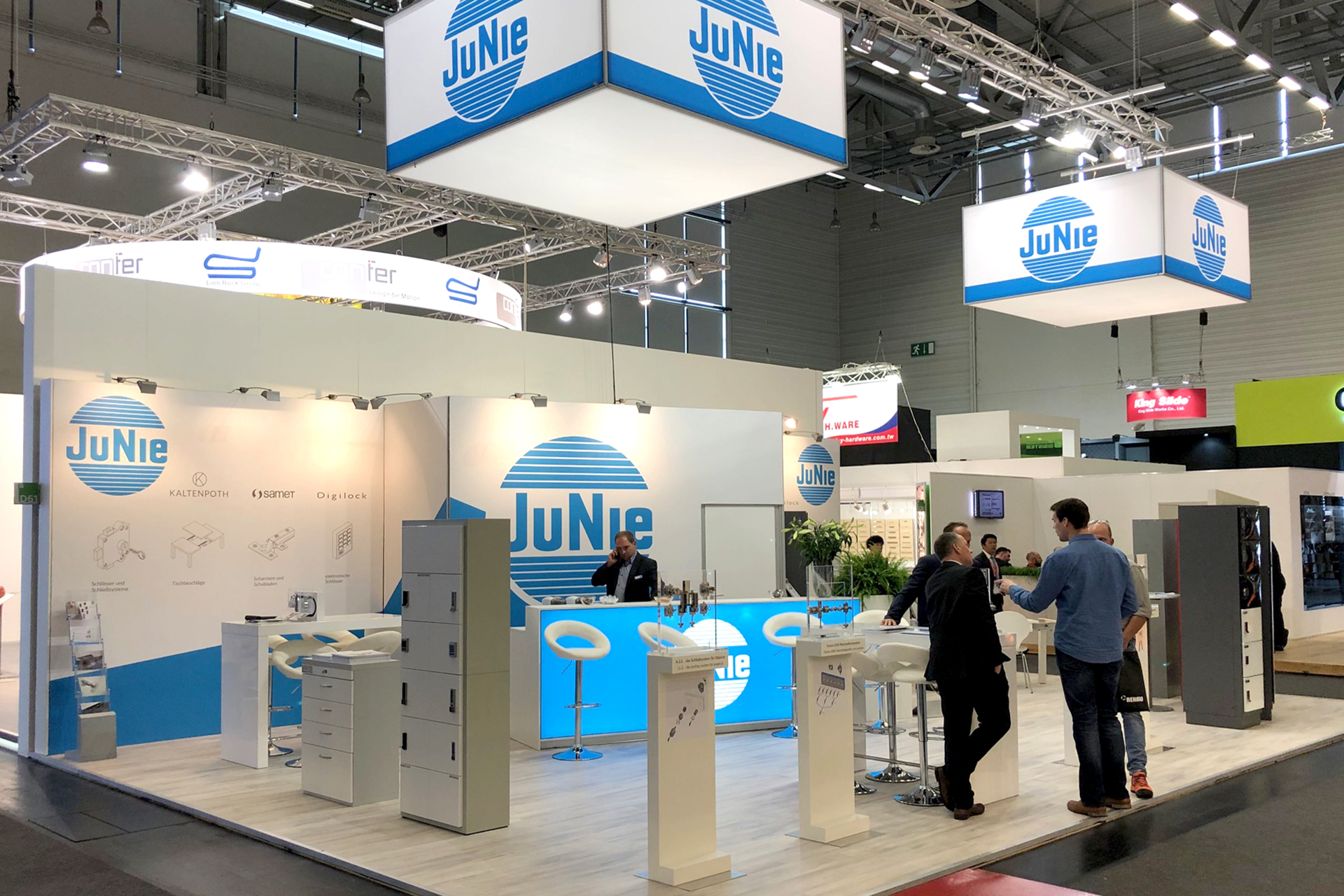 Messestand JuNie - Interzum 2019