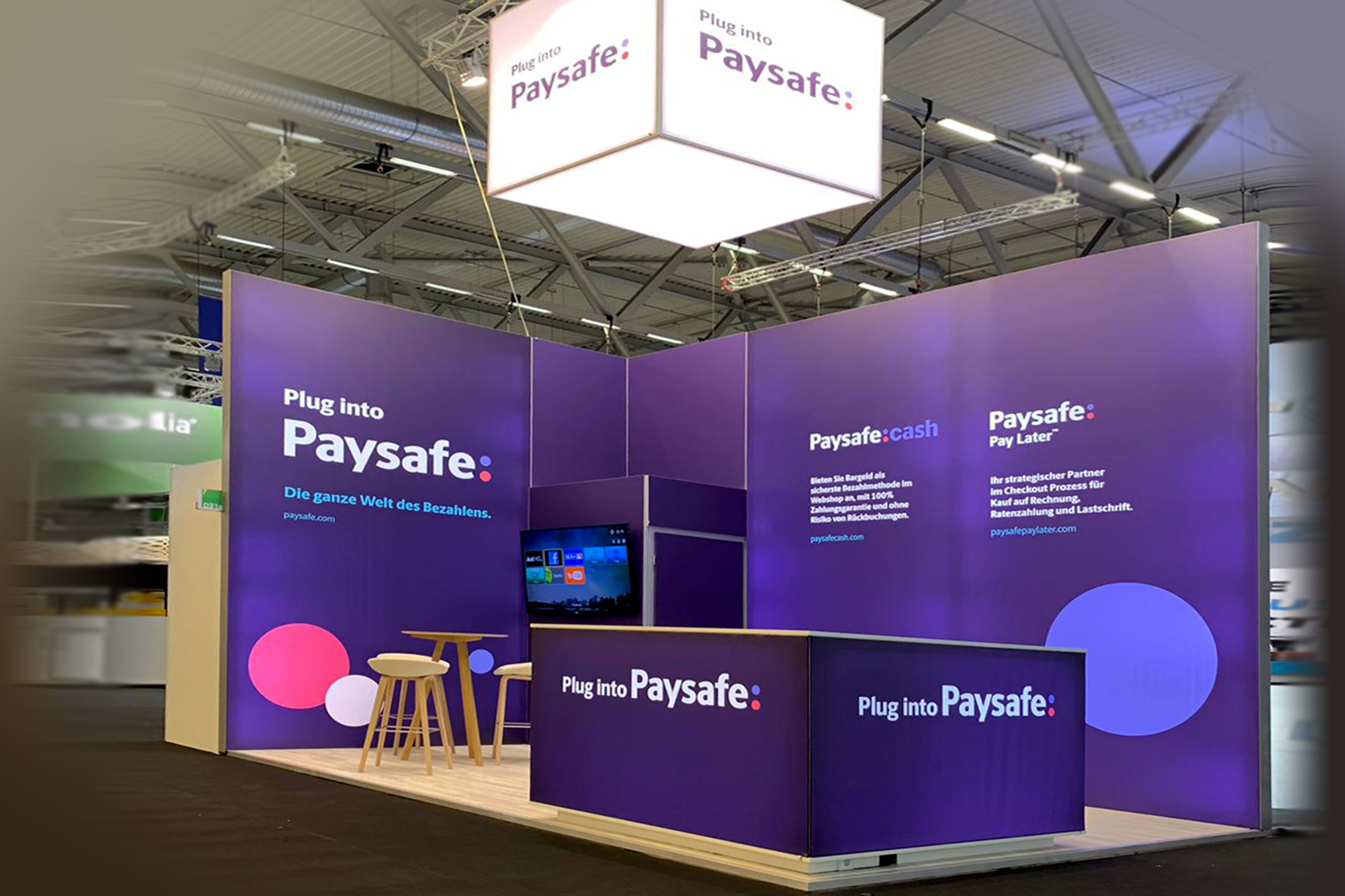 Messestand Payolution - dmexco 2019