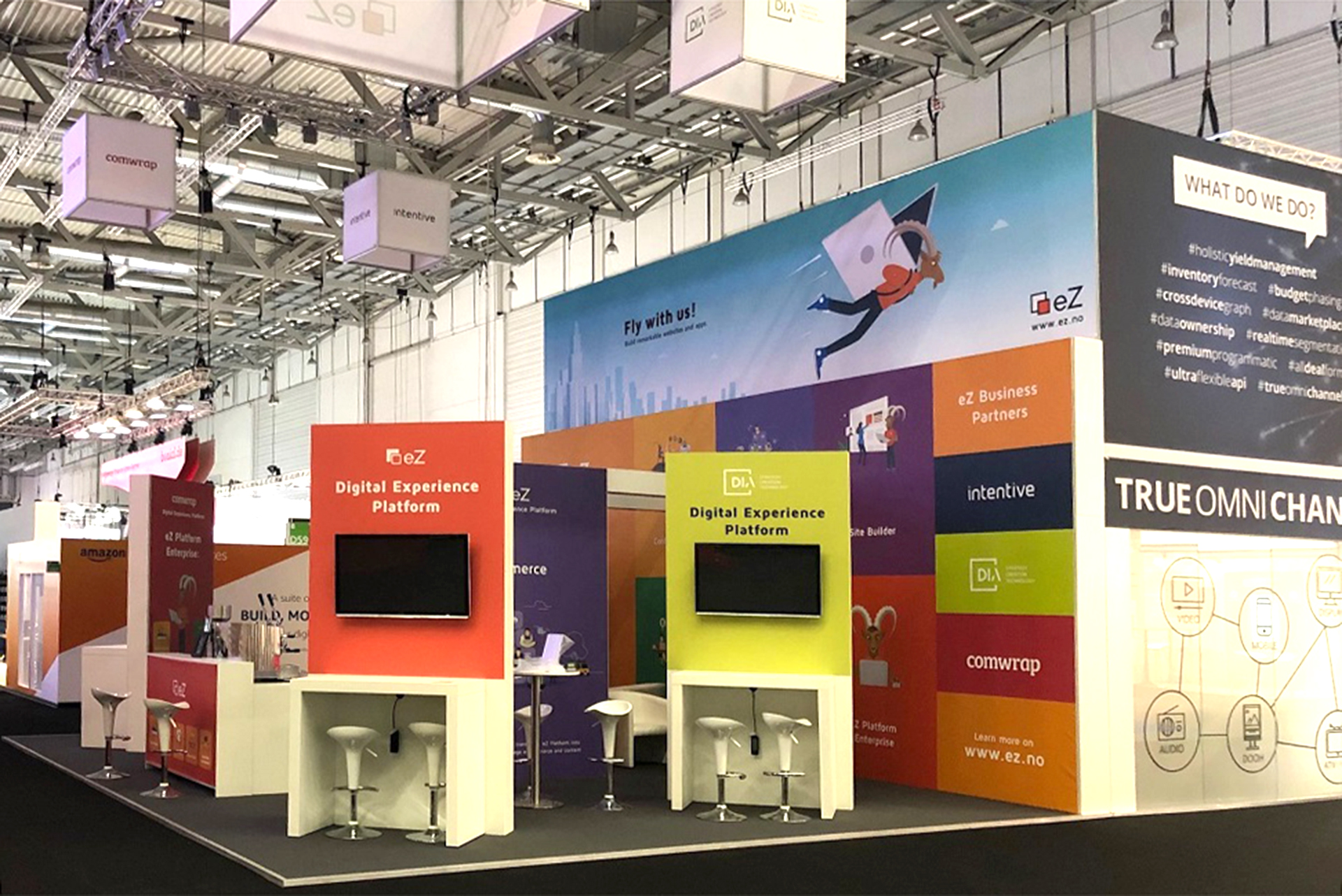 Messestand eZ Systems- dmexco 2019