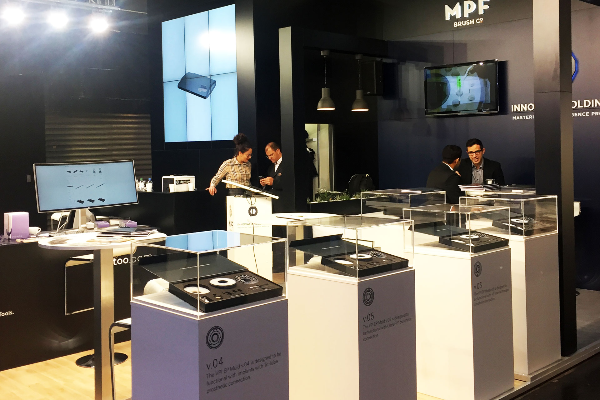 Messestand MPF Brush- IDS 2017 Messebau CCKöln