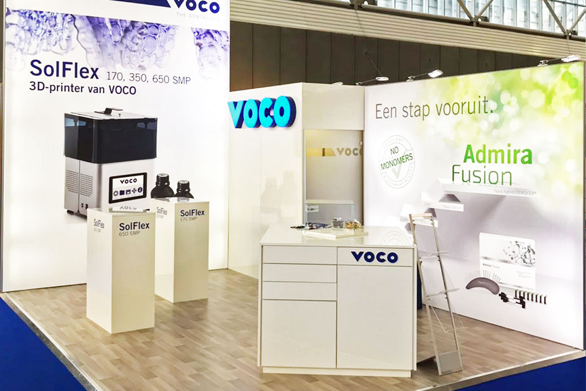 Messestand VOCO - Dental Expo 2018